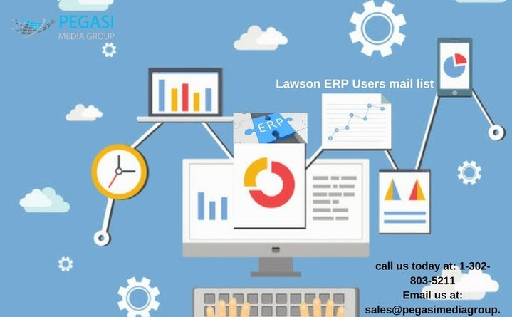 Lawson ERP Users Email List| Lawson ERP Mailing List